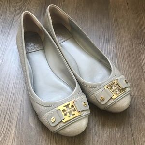 Tory Burch Clines Ballet - Antique Gray